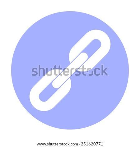 Link icon. - stock vector
