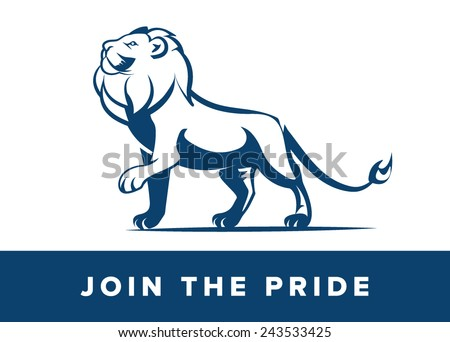 Lion - stock vector
