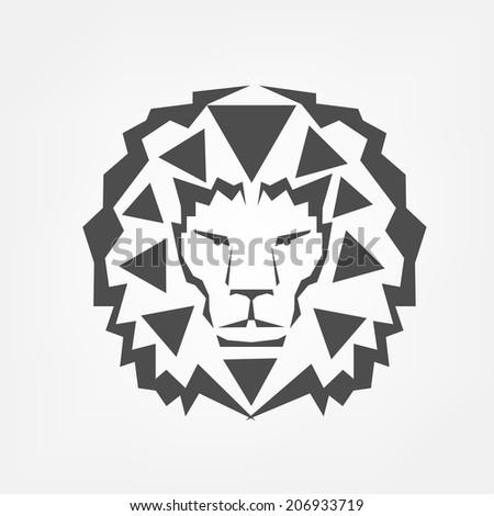 Lion head  - stock vector