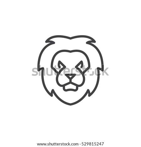 Lion Face T Shirt Design