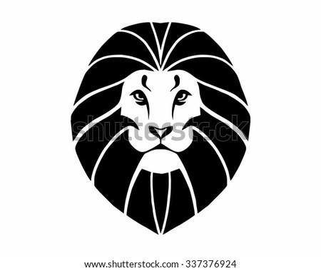 lion head logo vector icon stock vector 337376924 - shutterstock