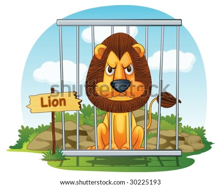 Zoo Cage Stock Images, Royalty-Free Images & Vectors   Shutterstock