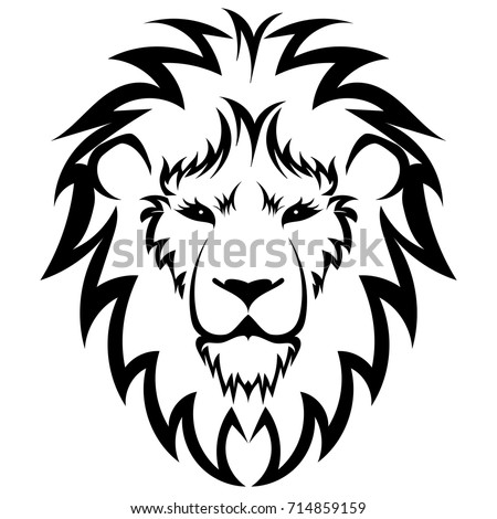 lion head stock vector 96623884 shutterstock