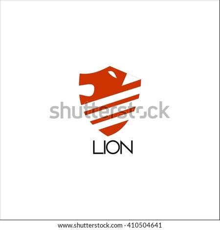 lion Logo Template  - stock vector