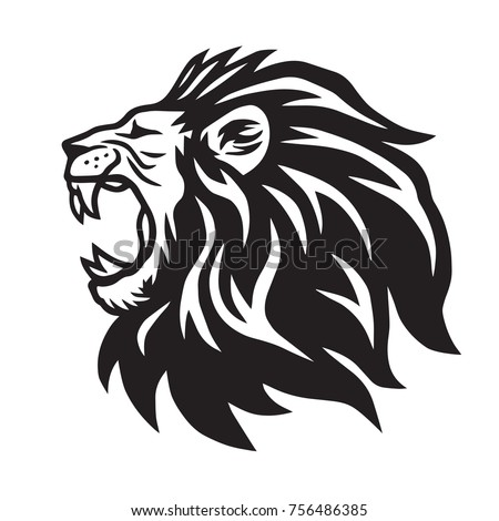 lion head icon stock vector 94999156 shutterstock