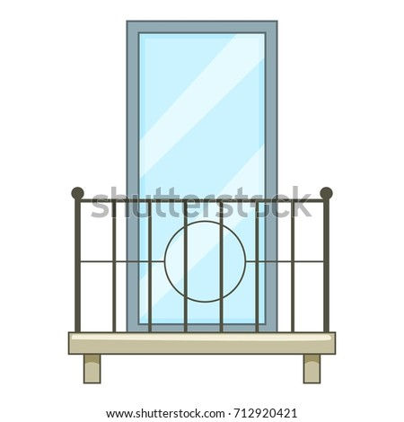 Balcony icon stock images royalty free images vectors for Balcony cartoon