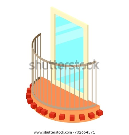 Balcony icon stock images royalty free images vectors for Balcony vector