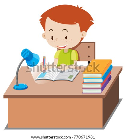 Homework Stock Photos and Images