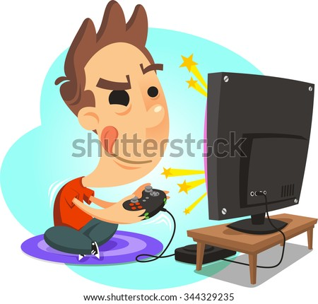 Kids Playing Video Games Stock Images, Royalty-Free Images ...