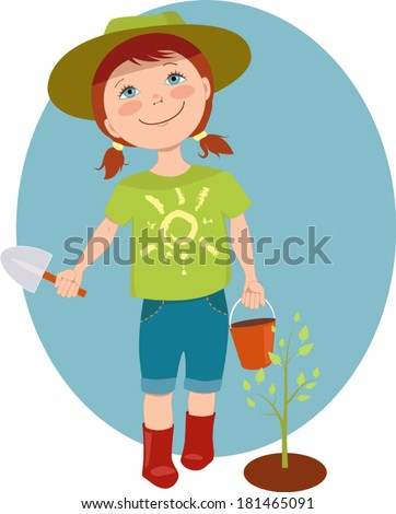 Kids Planting Tree Stock Images, Royalty-Free Images & Vectors ...