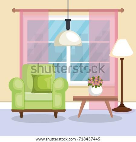 Living Room Scene Icon