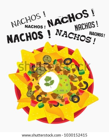 Nacho Bar Clipart