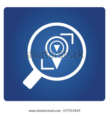 location tracking - stock vector