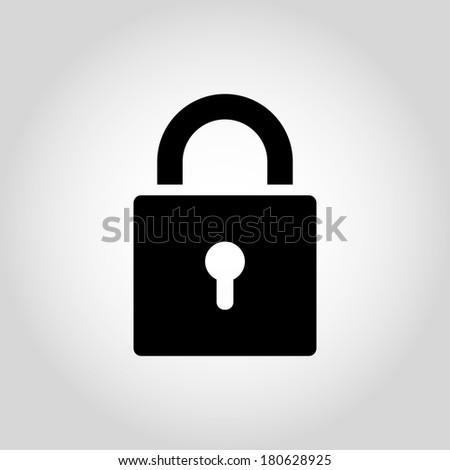 Locks Icons - stock vector
