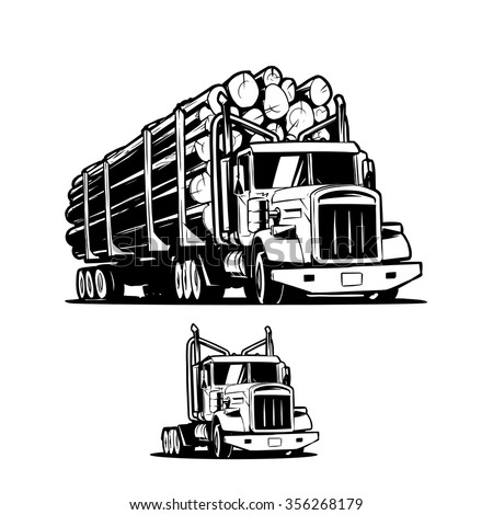 Log Truck Clipart | www.pixshark.com - Images Galleries ...
