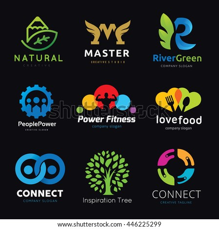 Logo Collection. Set of brand identity. Vector Illustration Templates Collection.
