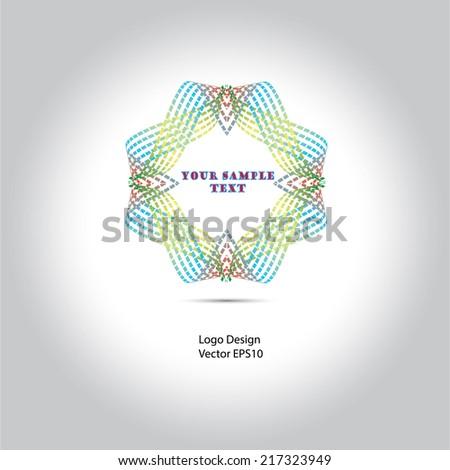 logo design - stock vector