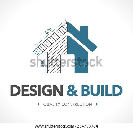 Logo Design Build Stock Vector 234753784 Shutterstock