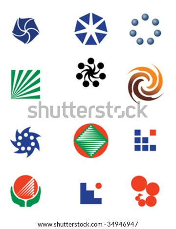 Logo Design elements - stock vector