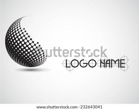 Logo design. Vector illustration. - stock vector