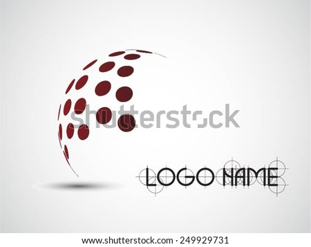 Logo design. Vector illustration. - stock vector