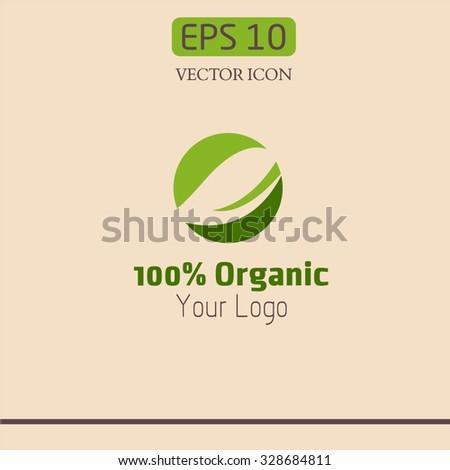 logo ecology - stock vector