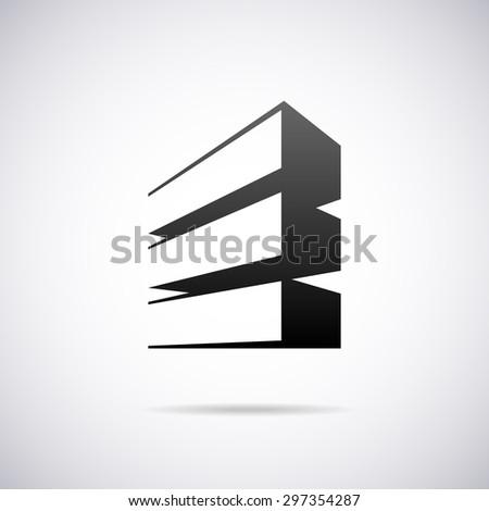 Logo For Letter E Design Template