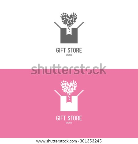 Black Gift Box Stock Vectors & Vector Art
