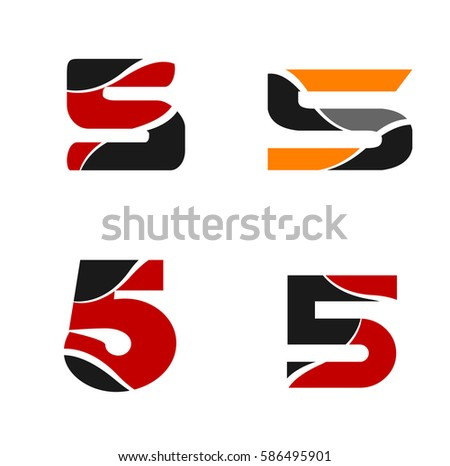 Vector Sign Logo Nine Number 9 Stock Vector 501664558 ...