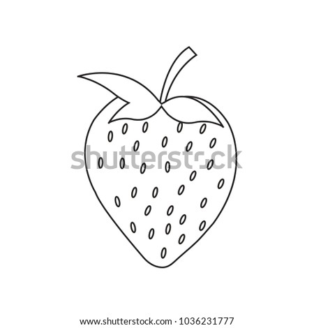 Logo Icon Strawberry Template Stock Photo (Photo, Vector ...