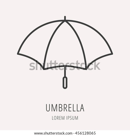 Umbrella Background Eps 8 Vector Grouped Stock Vector 132756236
