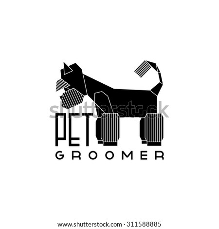 Pet Groomer Logo Stock Images, Royalty-Free Images & Vectors ...