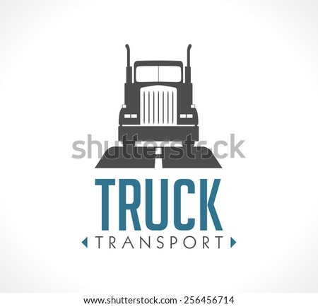logo truck transport stock vector 256456714 shutterstock