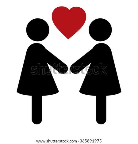 Logo. Valentine's Day. - stock vector