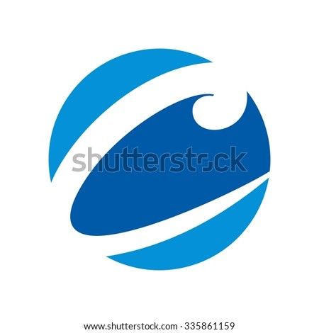 logotype for letter C. logo vector.