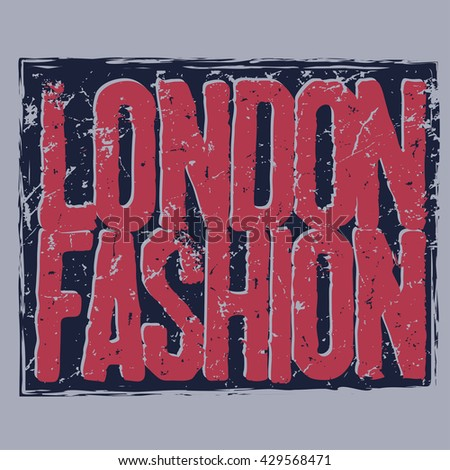 London city Typography Graphics, T-shirt design, vintage tee print stamp the capital of England, vector illustration