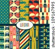 London Pattern Collection - stock vector