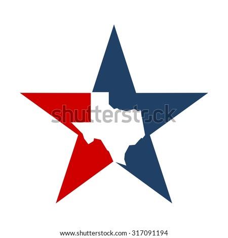 lone star texas logo template stock vector 317091194 - shutterstock
