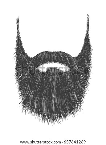 Beard Vector Icon
