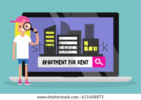 House rental stock images royalty free images vectors for Looking for apartments