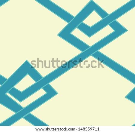Loop. angles - stock vector