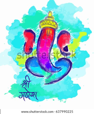 lord ganesha painting style - Free Painting Pictures