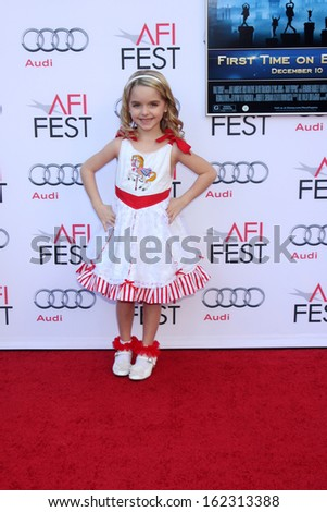 "LOS ANGELES - NOV 9:  Mckenna Grace at the AFI FEST ""Mary Poppins"" 50th Anniversary Commemoration Screening at TCL Chinese Theater on November 9, 2013 in Los Angeles, CA	0"