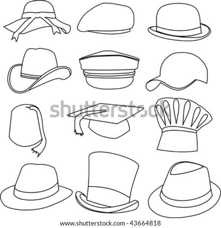 Draw Hats & Caps   Zazzle