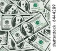 lots of real money background - one hundred dollars - seamless vector wallpaper - stock photo