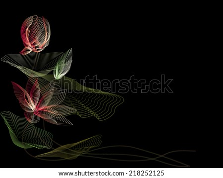 Lotus design stock images royalty free images vectors for Abstract beauty salon