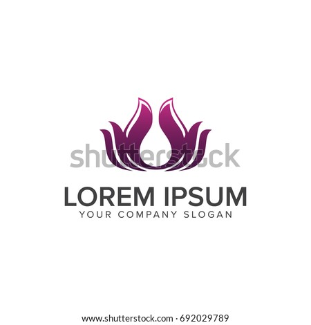 Abstract technology logo letter f logo stock vector for Abstract beauty salon