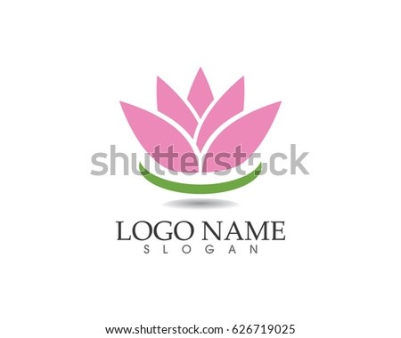 Lotus flower spa logo