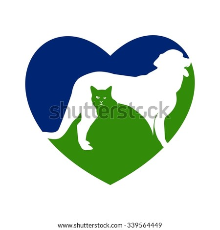 Love Animal Medical, Animal Care - stock vector