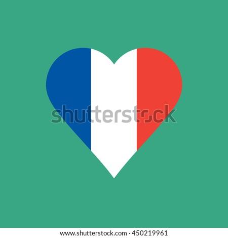 love France - stock vector